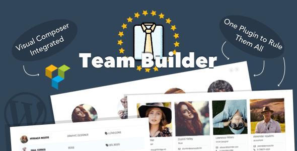 Team Builder v1.5.6 - Meet The Team WordPress Plugin