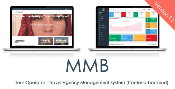 MMB Tour Operator v1.1 – Travel Agency Management System and CMS