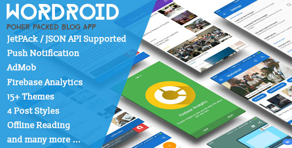 WorDroid v1.4 – Full Native WordPress Blog App