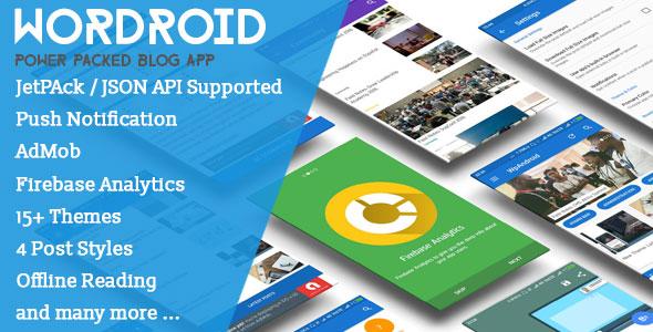 WorDroid v2.3 - Full Native WordPress Blog App