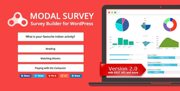 Modal Survey v2.0.0.4 – WordPress Poll, Survey & Quiz Plugin