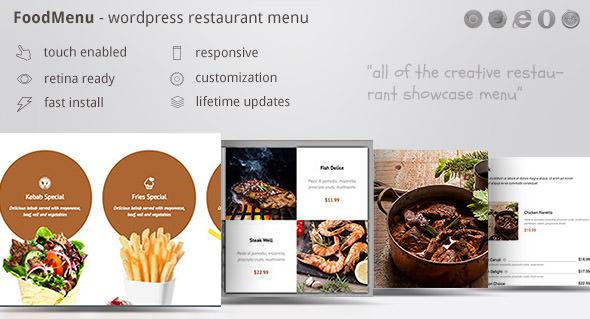 FoodMenu v1.14 - WP Creative Restaurant Menu