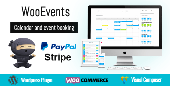WooEvents v3.6 - Calendar and Event Booking