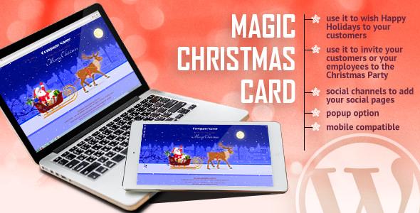 Magic Christmas Card With Animation v1.0
