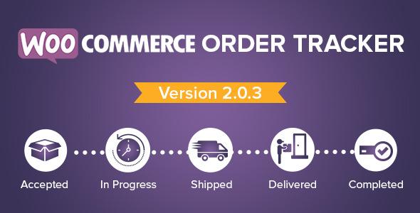 WooCommerce Order Tracker v2.0.3