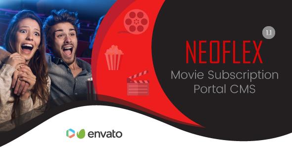 Neoflex v1.1 – Movie Subscription Portal Cms