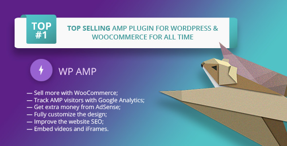 WP AMP v9.3.4 – Accelerated Mobile Pages for WP and WooCommerce
