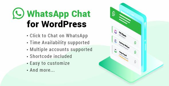 WhatsApp Chat for WordPress v1.8