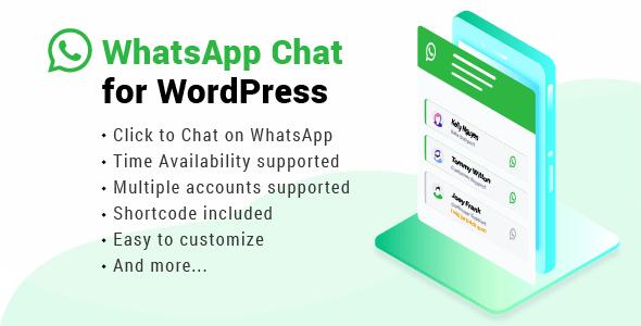 WhatsApp Chat for WordPress v2.1.1
