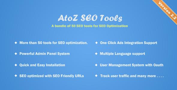 AtoZ SEO Tools v2.2 - Search Engine Optimization Tools