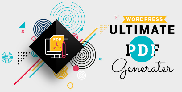 WP Ultimate PDF Generator v1.0.5