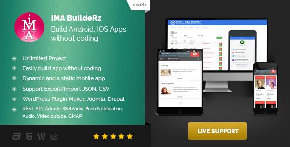 Ionic Mobile App Builder v18.12.10 – nulled