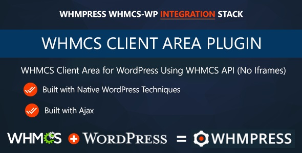 WHMCS Client Area for WordPress by WHMpress v2.7.4
