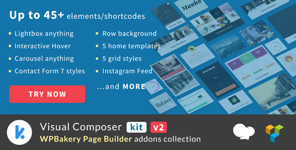 VCKit v2.0.7 - WPBakery Page Builder addons collection