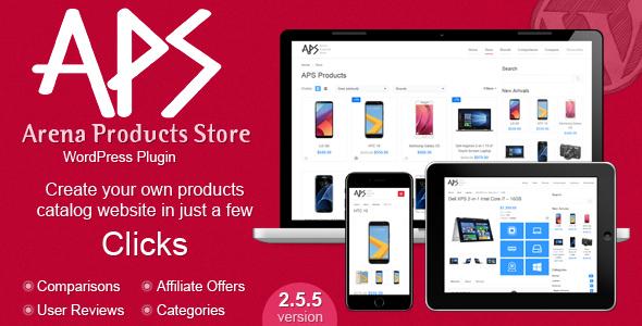 Arena Products Store v2.5.5 – WordPress Plugin