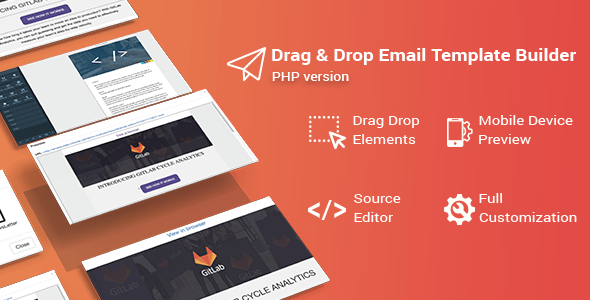 Bal v2.0.4 – Drag & Drop Email Template Builder for PHP