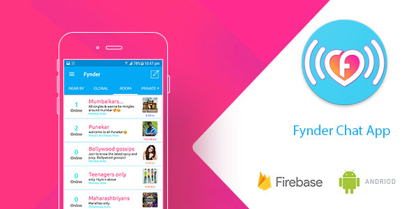 Fynder – Find, Chat, Meet – Realtime Chat Application with Firebase