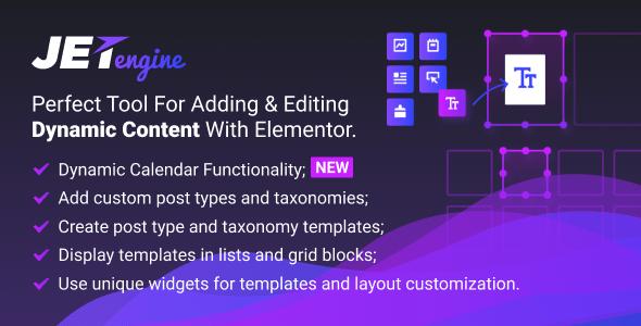 JetEngine v1.2.6 – Adding & Editing Dynamic Content