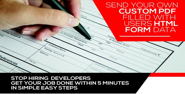 Form Generating PDF v3.5.9