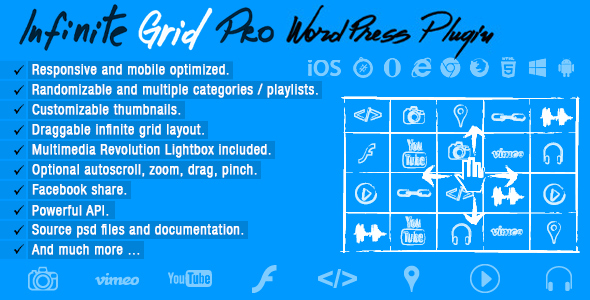 Infinite Grid Pro v2.0 – WordPress Plugin