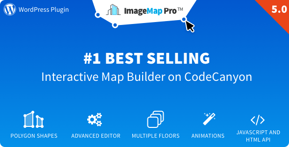 Image Map Pro v5.1.2 – jQuery SVG Map Builder