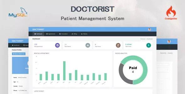 Doctorist v1.0 – Patient Management System