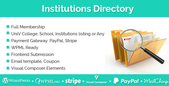 Institutions Directory v1.2.0