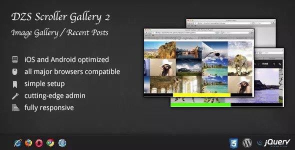 Scroller Gallery 2 v1.4.1 – Recent Posts Teaser