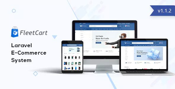 FleetCart v1.1.3 – Laravel Ecommerce System
