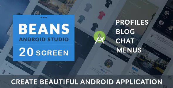BEANS UI KIT – Android App template