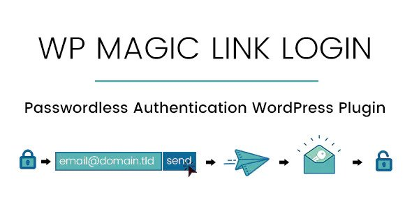 WP Magic Link Login v1.2 – Passwordless Authentication