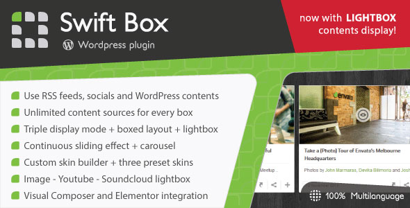 Swift Box v2.1 – WordPress Contents Slider and Viewer