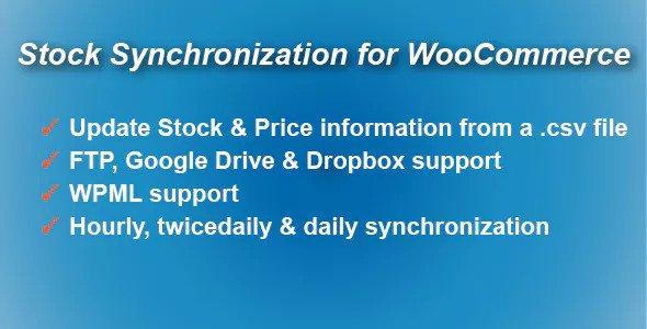 Stock Synchronization for WooCommerce v1.4.3