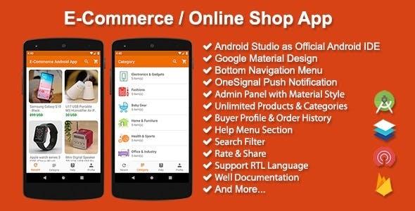E-Commerce / Online Shop App v3.0.1