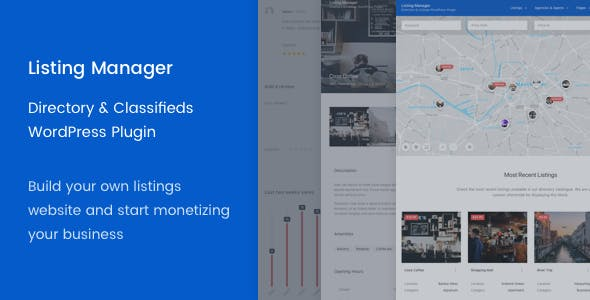 Listing Manager v2.5.15 – WordPress Directory Plugin