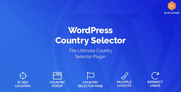 Wordpress Country Selector v1.5.5