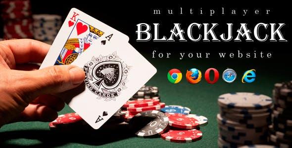 Multiplayer BlackJack – Online Casino Game