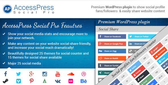AccessPress Social Pro v1.3.8