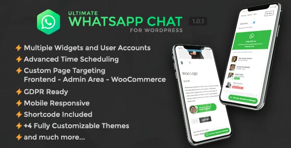 Ultimate WhatsApp Chat Support for WordPress v1.0.0