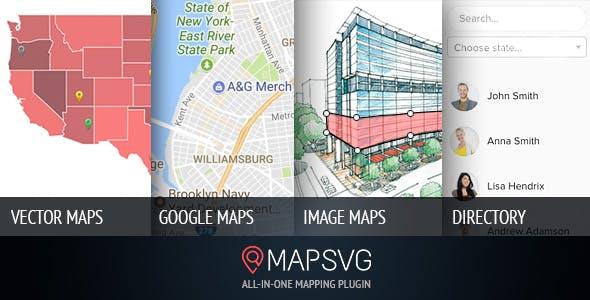 MapSVG v5.7.10 – The last WordPress map plugin you'll ever need