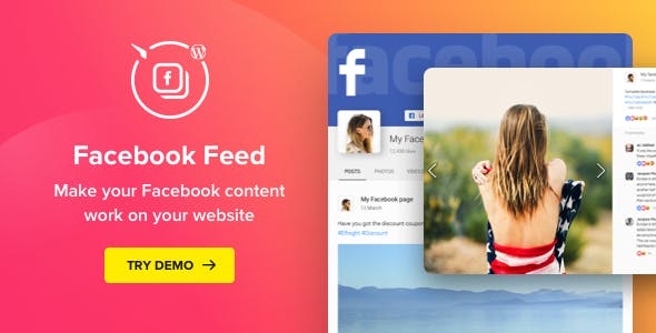 WordPress Facebook Plugin v1.10.0 – Facebook Feed Widget