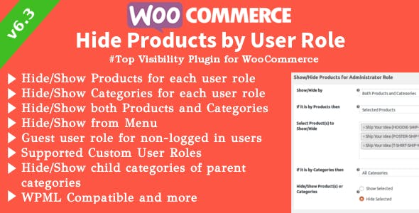 WooCommerce Hide Products v6.3.1