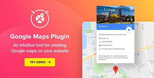 WP Google Maps v2.1.0 – Map Plugin for WordPress