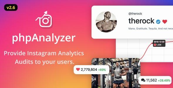 phpAnalyzer v2.6.12 - Instagram Analytics / Audit / Statistics Tool