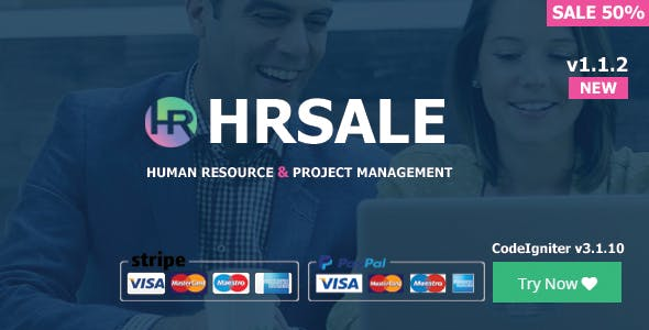 HRSALE v1.1.2 – The Ultimate HRM