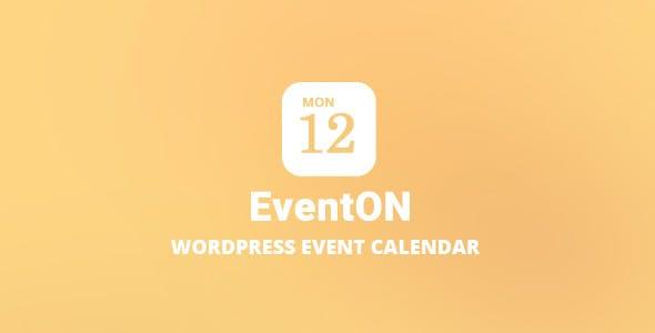 EventOn v2.7.1 – WordPress Event Calendar Plugin