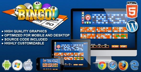 Bingo! - HTML5 Gambling Game