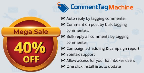 CommentTag Machine v2.0.2 – A EZ Inboxer Add-on for tagging post commenters of Facebook Pages