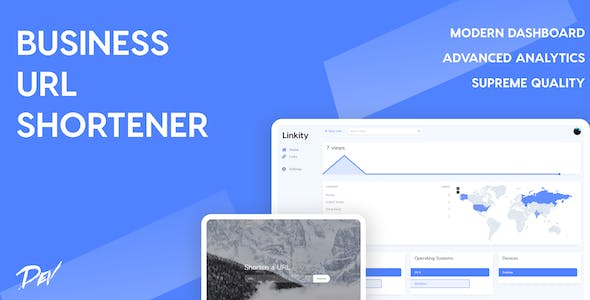 Linkity v1.0 – Business URL Shortener