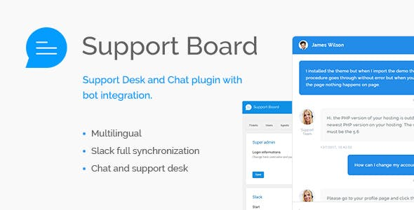 Support Board v1.2.9 – Chat And Help Desk Support & Chat